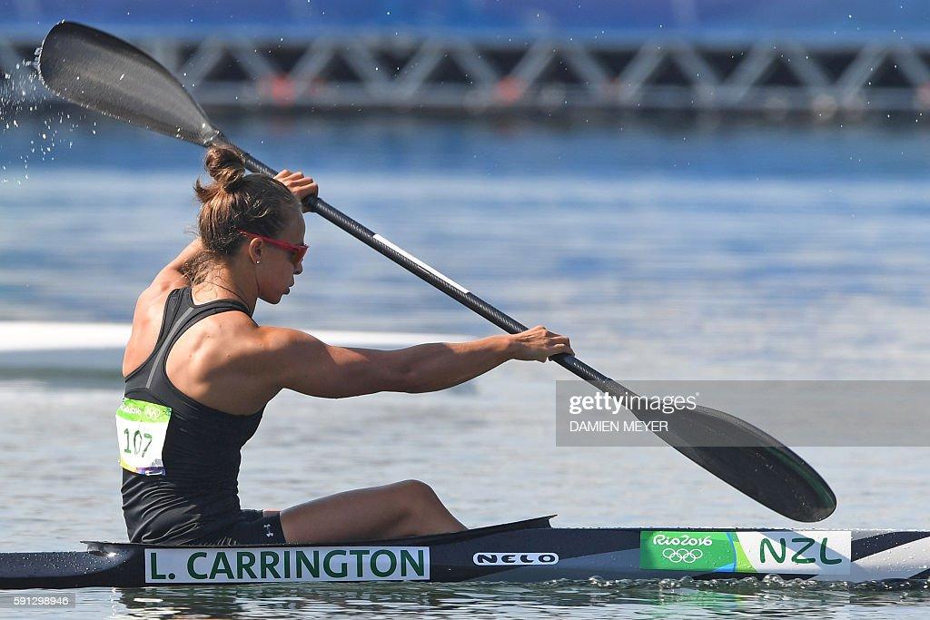 CANOE-SPRINT-OLY-2016-RIO : News Photo