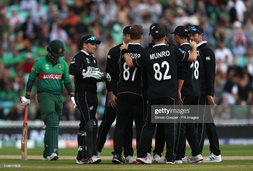 Bangladesh v New Zealand - ICC Cricket World Cup - Group Stage - The Oval : News Photo