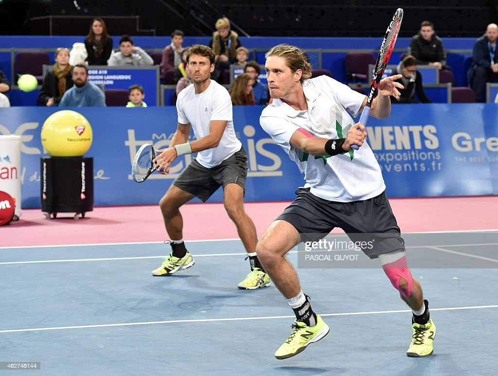 TENNIS-FRA-ATP-MONTPELLIER : News Photo