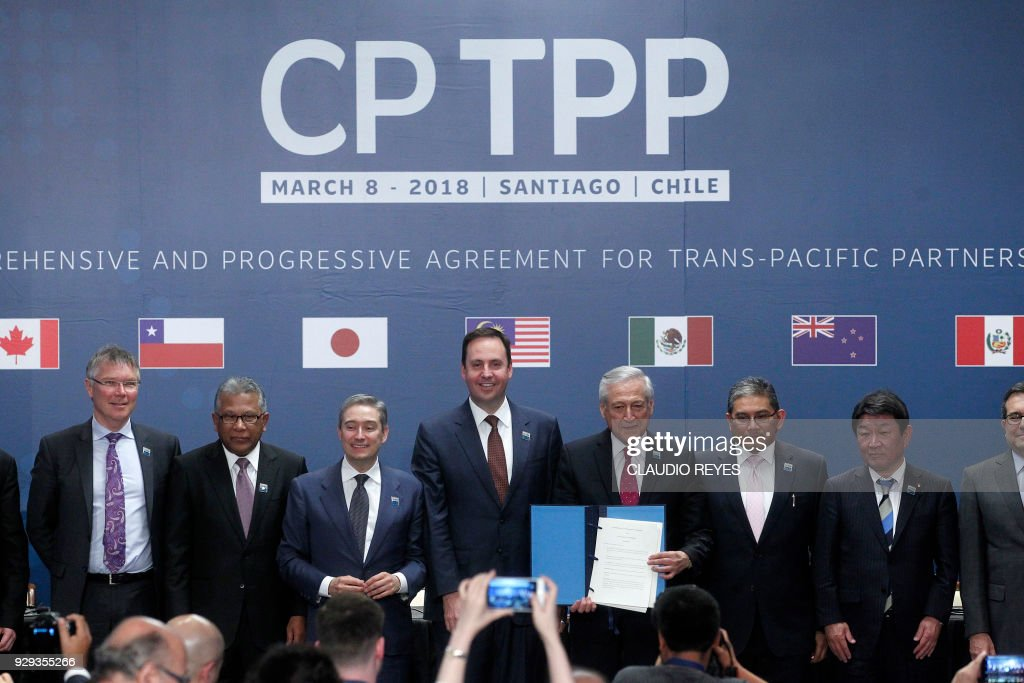 CHILE-ASIA-PACIFIC-CPTPP-TRADE-PACT : News Photo