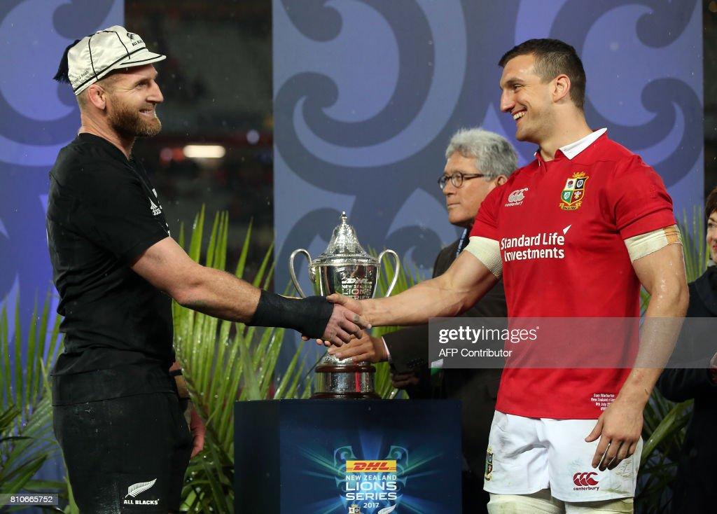 RUGBYU-NZL-LIONS : News Photo