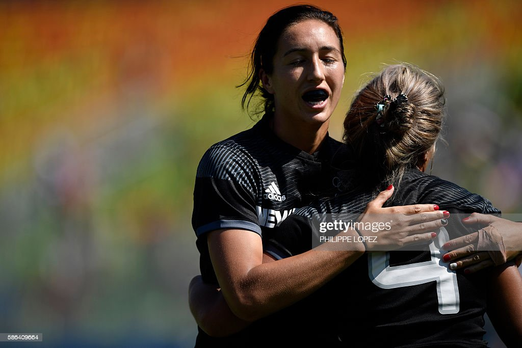 RUGBY7-OLY-2016-RIO-NZL-KEN : News Photo