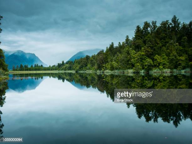 New Zealand's south island mather sen lake