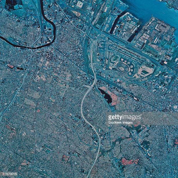 """Newark, New Jersey, satellite image"""