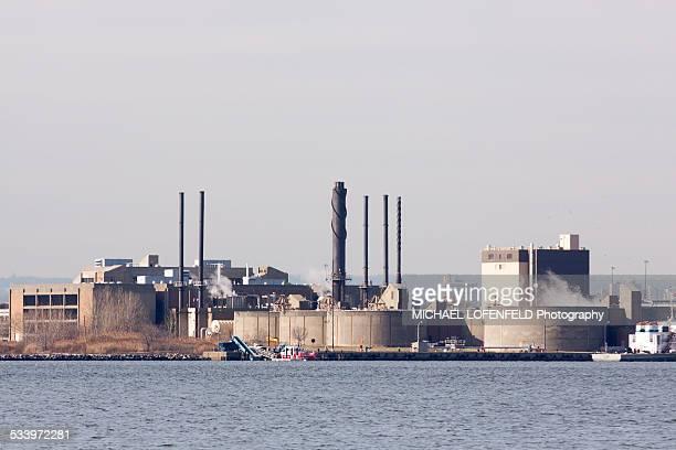 Newark NJ Industrial Plant