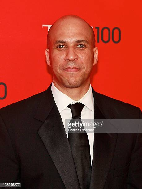 Newark NJ Mayor Cory Booker attends the 2011 TIME 100 gala at Frederick P Rose Hall Jazz at Lincoln Center on April 26 2011 in New York City