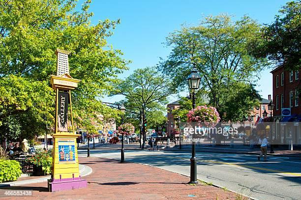 マサチューセッツ州ニューベリーポートで - ニューバリー ストックフォトと画像