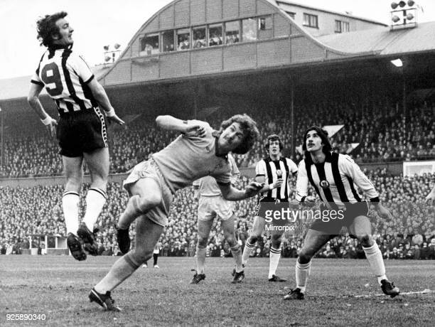 Newcastle 2 - 0 Sunderland English League Division 1 match held at St James' Park, 27th December 1976.