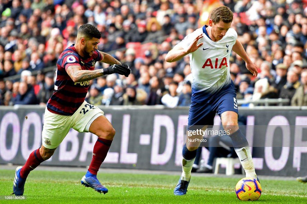 Tottenham Hotspur v Newcastle United - Premier League : ニュース写真