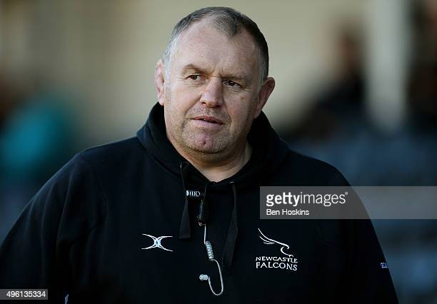 Newcastle Director of Rugby Dean Richards looks on ahead of the Aviva Premiership match between Worcester Warriors and Newcastle Falcons at Sixways...