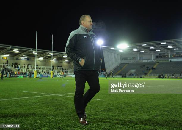 Newcastle Falcons Director of Rugby Dean Richards before the Aviva Premiership match between Newcastle Falcons and Gloucester Rugby at Kingston Park...