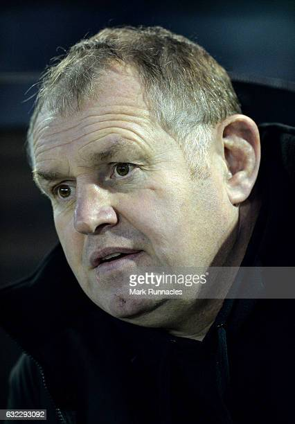 Newcastle Falcons Director of Rugby Dean Richards looks on during the European Rugby Challenge Cup pool 2 match between Newcastle Falcons and Ospreys...