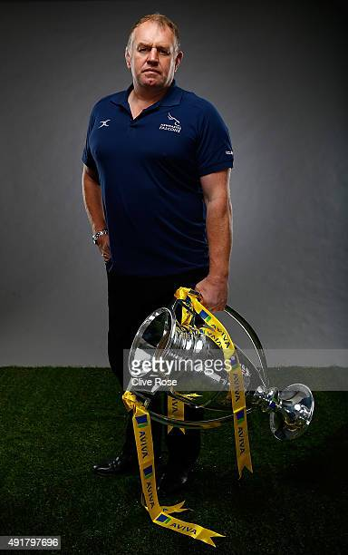 Newcastle Falcons director of rugby Dean Richards poses for a portrait during the Aviva Premiership Season Launch at Twickenham Stoop on October 8...