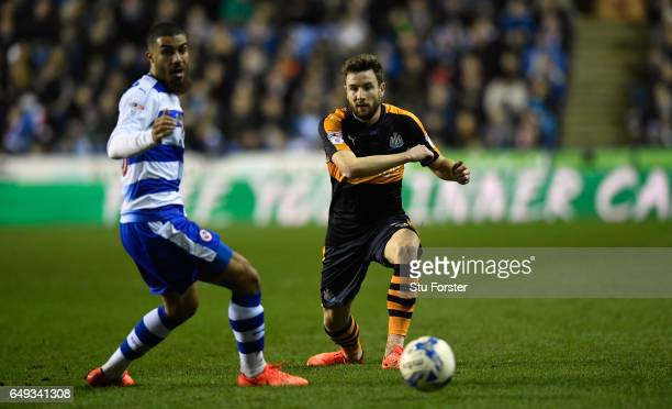 Newcastle full back Paul Dummett in action during the Sky Bet Championship match between Reading and Newcastle United at Madejski Stadium on March 7...