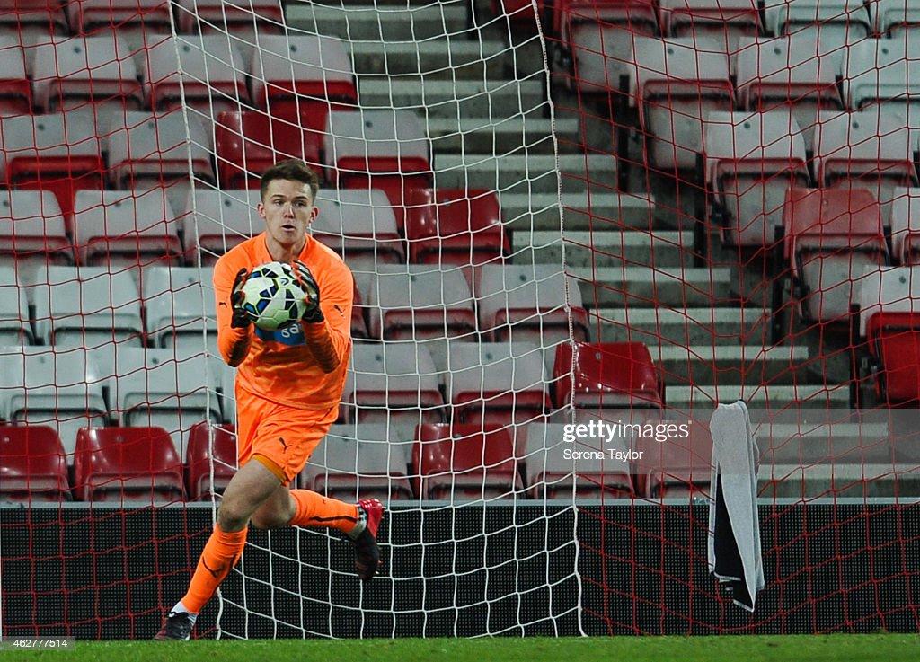 Sunderland AFC v Newcastle United  - FA Youth Cup Round 5 : News Photo