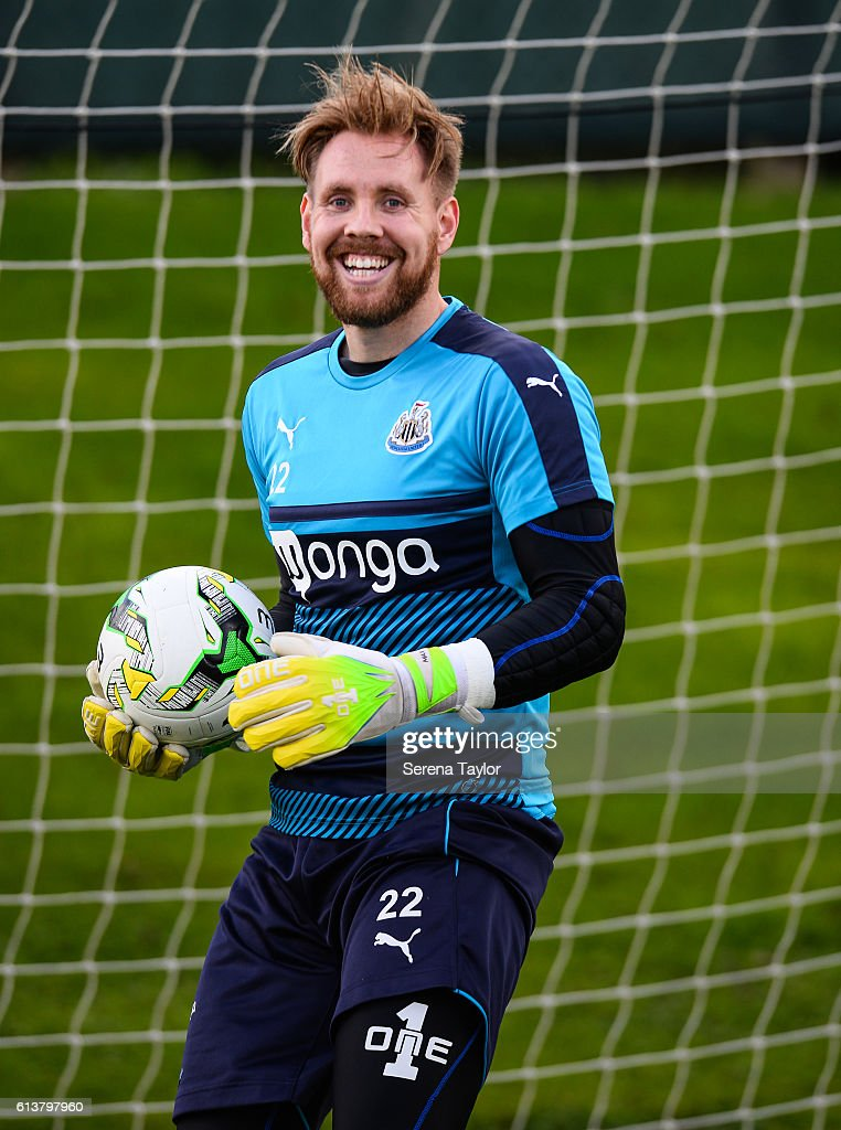 Rob Elliot Returns to Training with Newcastle United