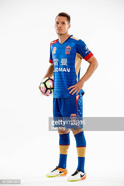 Newcastle Jets captain Nigel Boogaard poses during the 2016/17 ALeague Season Launch at ANZ Stadium on October 4 2016 in Sydney Australia