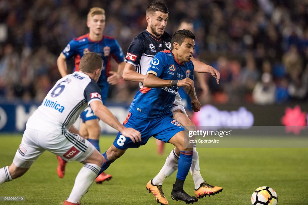 SOCCER: MAY 05 A-League Grand Final - Newcastle Jets v Melbourne Victory : News Photo