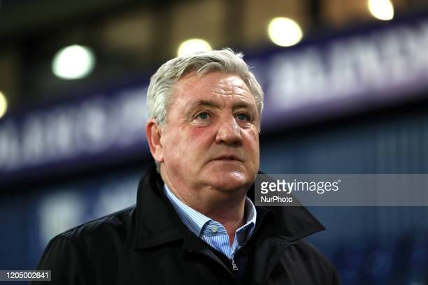 Newcastle manager Steve Bruce before the FA Cup match between West Bromwich Albion and Newcastle United at The Hawthorns, West Bromwich on Tuesday...