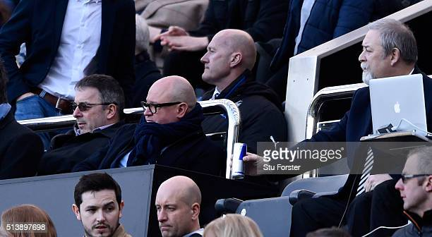 Newcastle managing director Lee Charnley looks on during the Barclays Premier League match between Newcastle United at AFC Bournemouth at St James'...