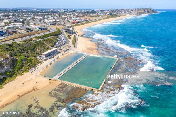 newcastle, new south wales, australia - newcastle new south wales stock pictures, royalty-free photos & images