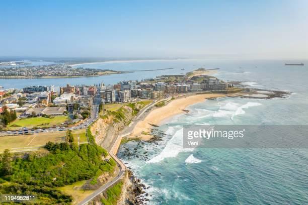newcastle, nsw, austrália - nova gales do sul - fotografias e filmes do acervo