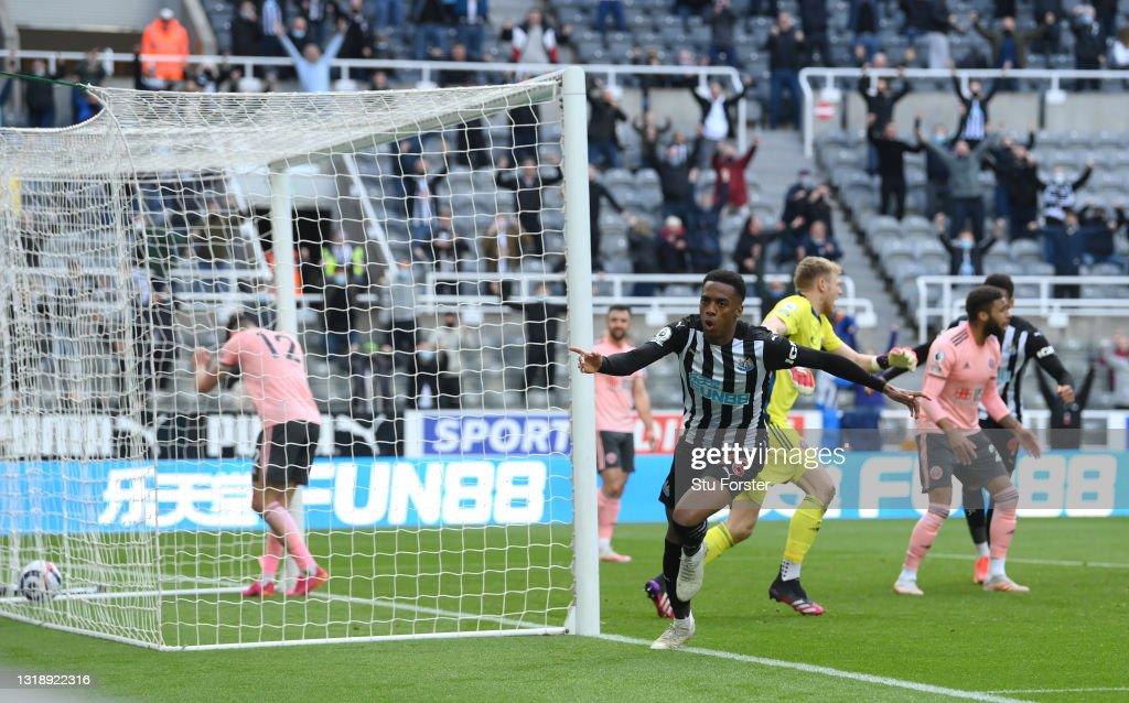 Newcastle United v Sheffield United - Premier League : Nyhetsfoto