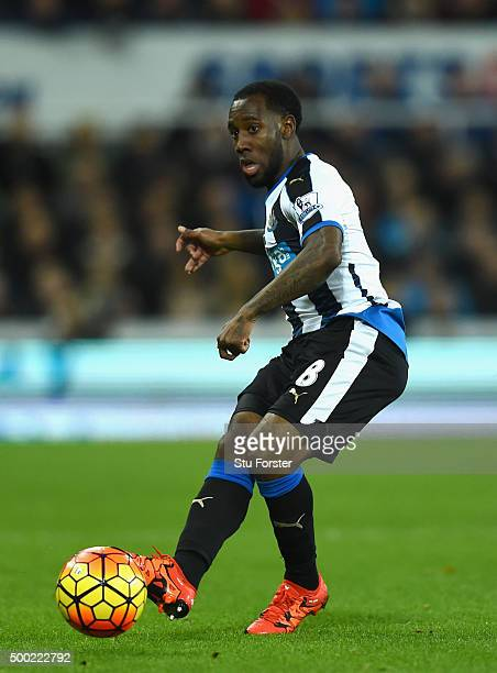 Newcastle player Vurnon Anita in action during the Barclays Premier League match between Newcastle United and Liverpool at St James' Park on December...