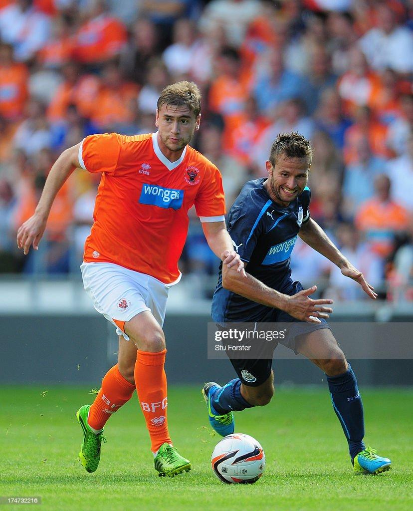 Blackpool v Newcastle United - Pre Season Friendly