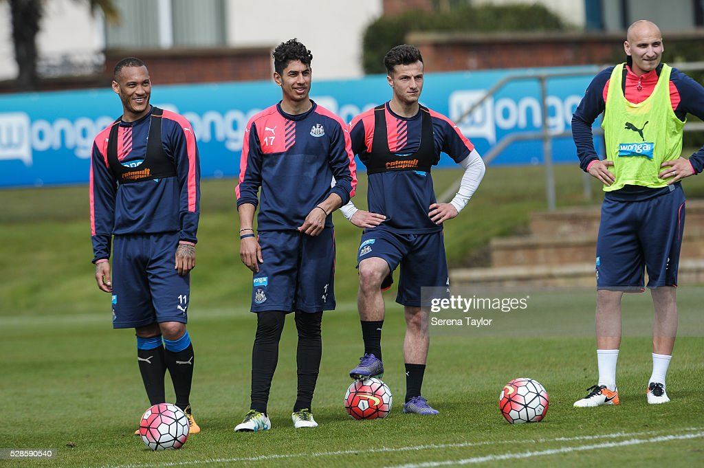 Newcastle United Training : News Photo
