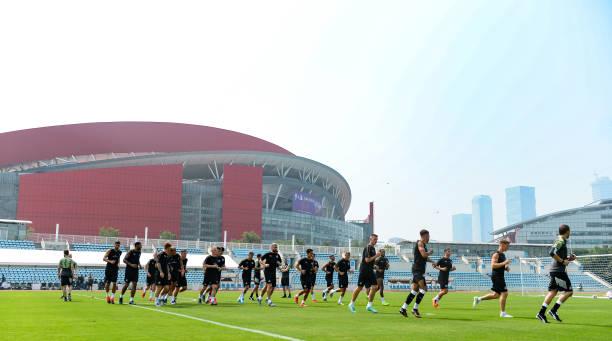 CHN: Newcastle United China Tour - Day 1