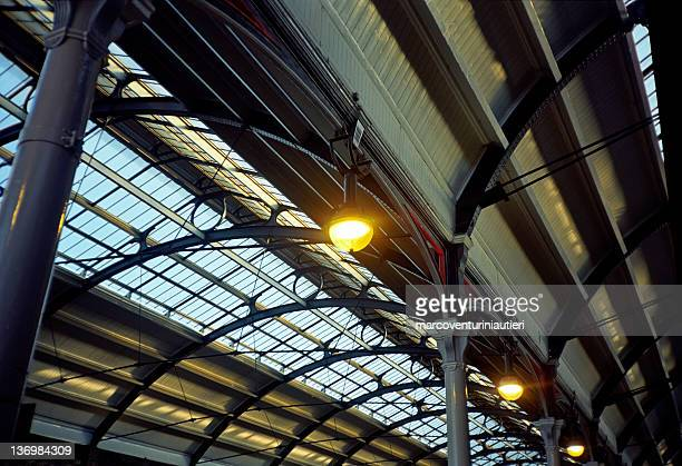 Newcastle - Railway station canopy