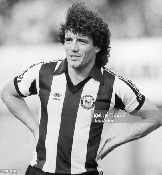 Newcastle striker Kevin Keegan 1982