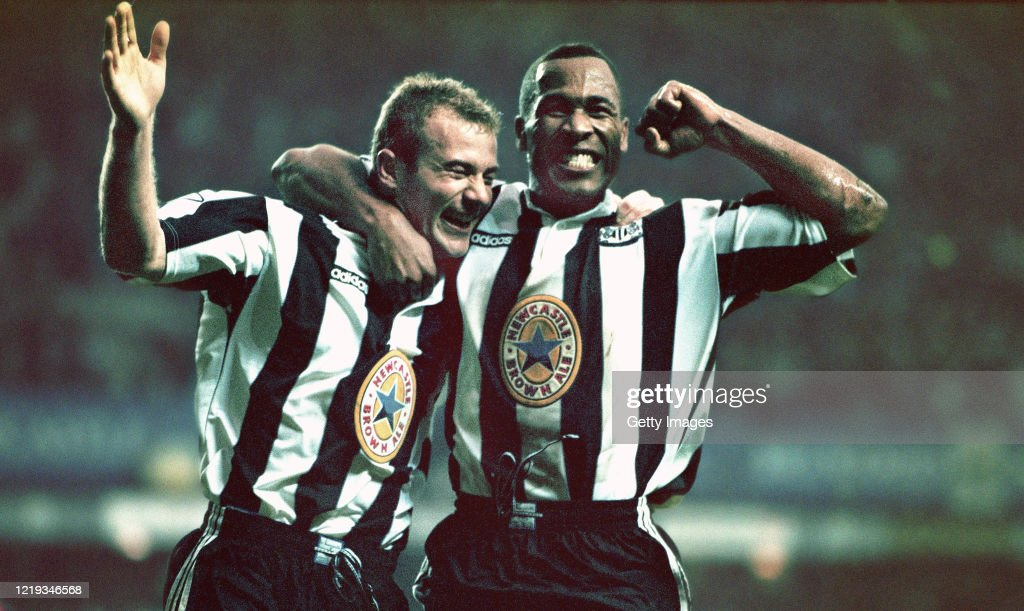 Howay 5-0 Newcastle v Manchester United Premiership 1996 : News Photo
