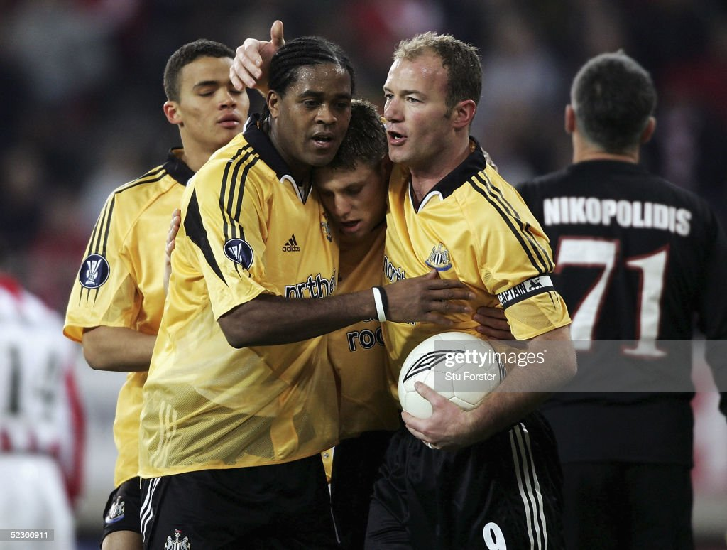 Olympiakos v Newcastle United : News Photo