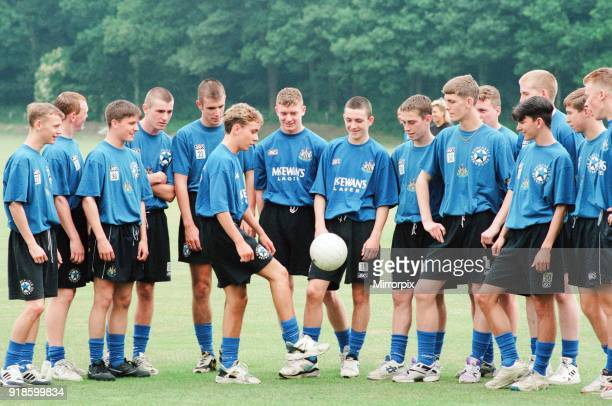 Newcastle United 1994, Pre Season Training, at the clubs training HQ near Durham, 8th July 1994.