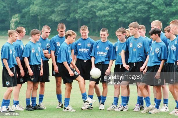 Newcastle United 1994, Pre Season Training, at the clubs training HQ near Durham, 8th July 1994.