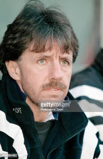 Newcastle United defensive coach Mark Lawrenson circa 1997