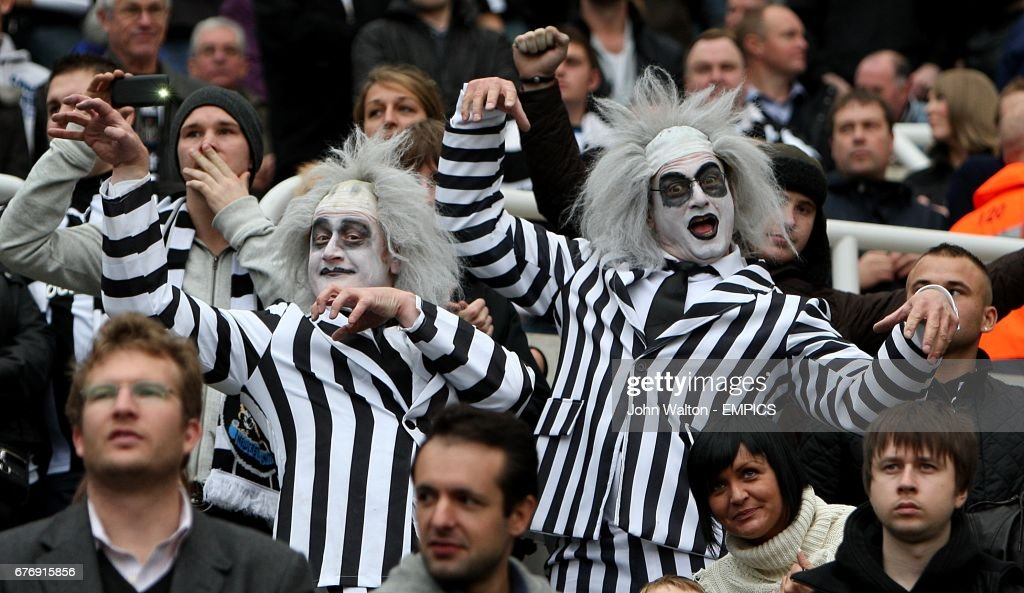Newcastle United fans in Halloween costumes prior to the match  sc 1 st  Getty Images & Soccer - Barclays Premier League - Newcastle United v Sunderland ...