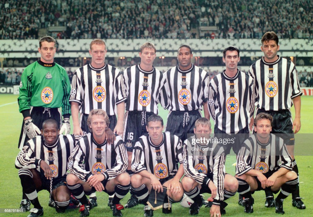 Newcastle United v Barcelona UEFA Champions League 1997 : News Photo