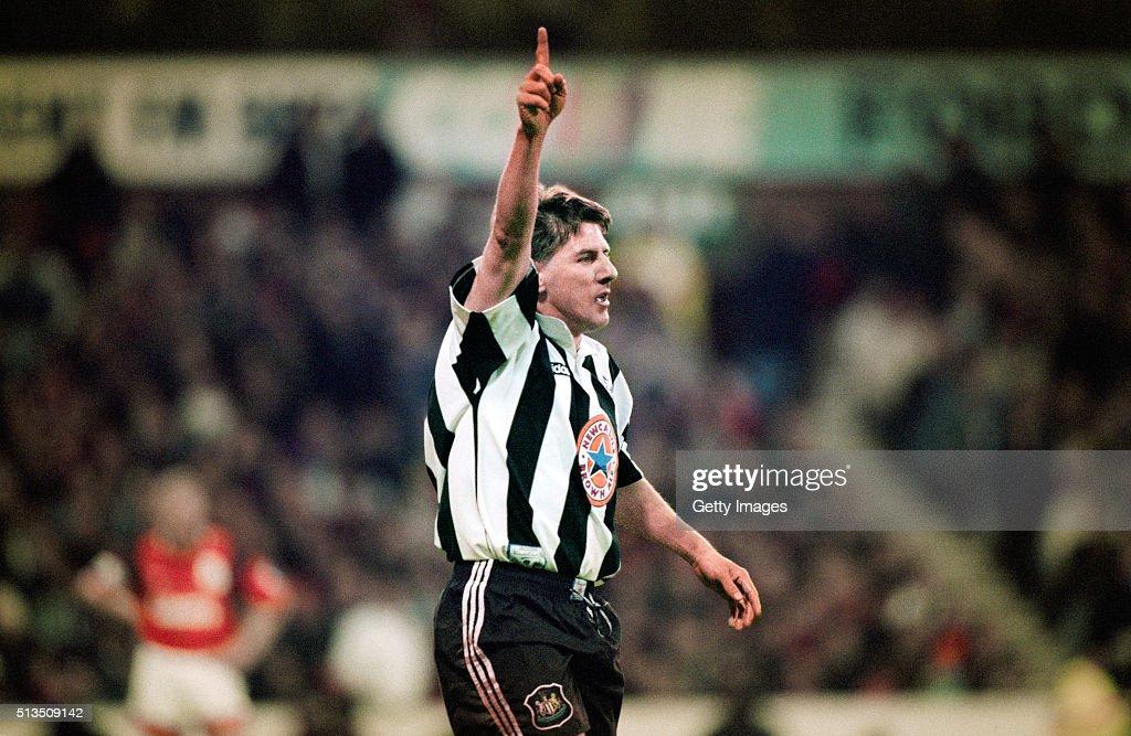 Peter Beardsley Newcastle United May 1996 : News Photo