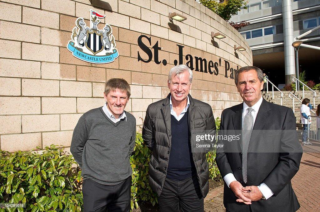 Newcastle United Unveils St James' Park Signs
