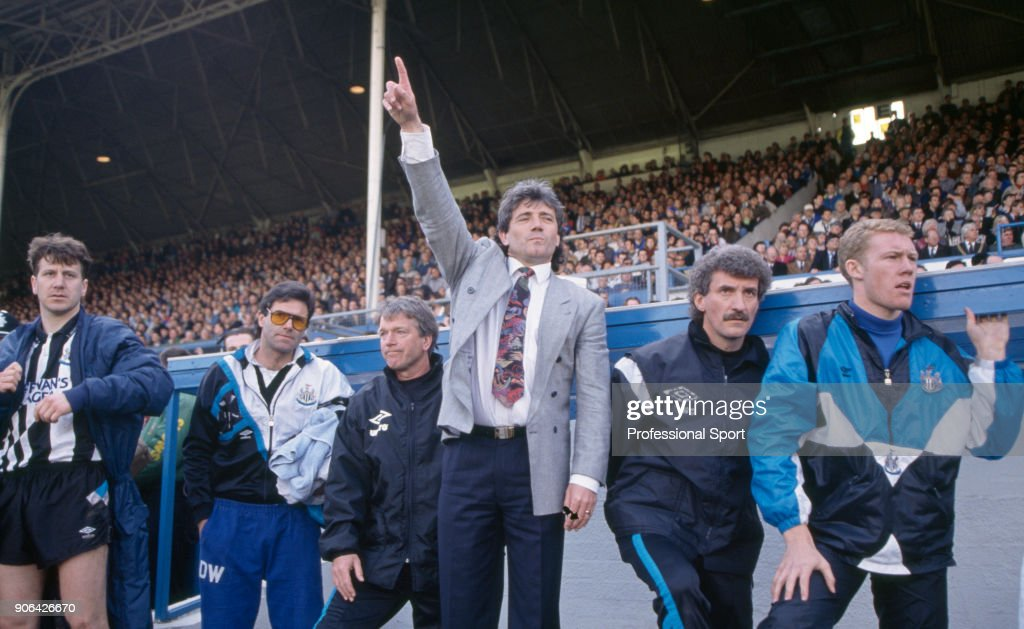 Kevin Keegan - Newcastle United Manager : News Photo