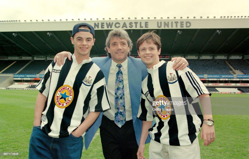 Newcastle United Adidas Kit Launch 1995 : News Photo
