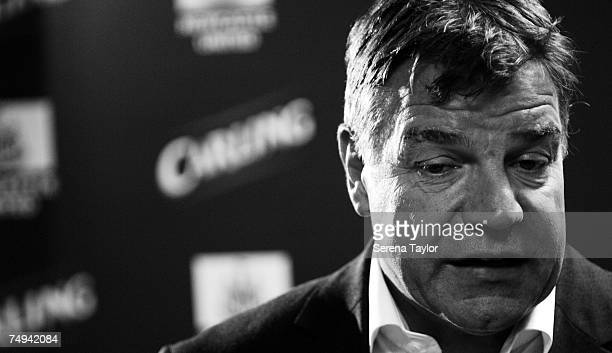 Newcastle United Manager Sam Allardyce at the Carling Press Conference releasing the information of the signing of a 4 year deal to be the clubs...