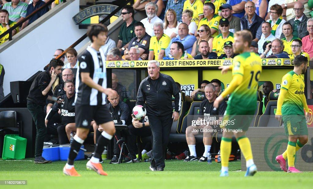 Norwich City v Newcastle United - Premier League - Carrow Road : News Photo