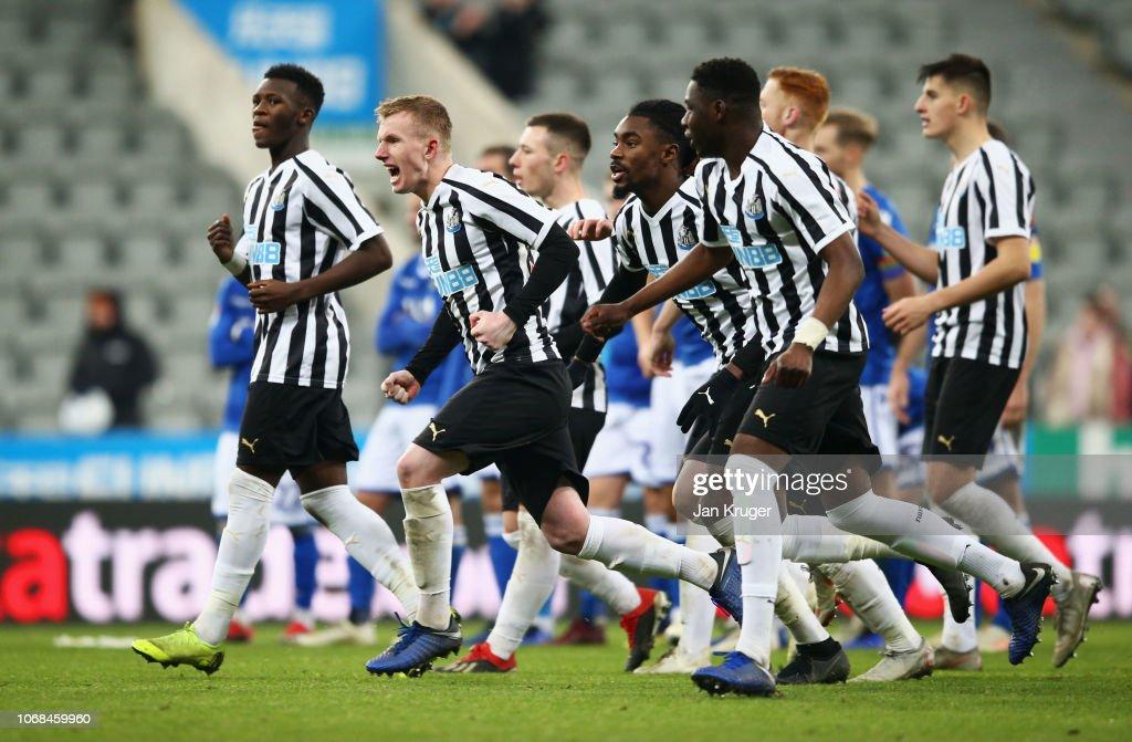 Newcastle United U23 v Macclesfield Town: Checkatrade Trophy : News Photo