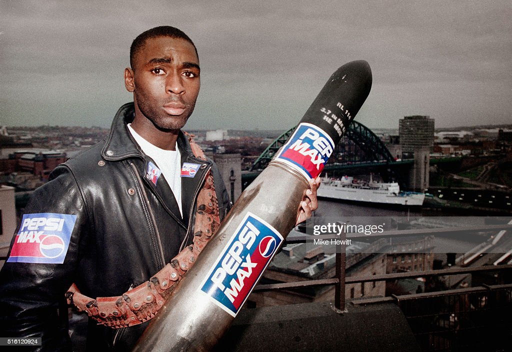 Andy Cole Newcastle United 1994 : News Photo