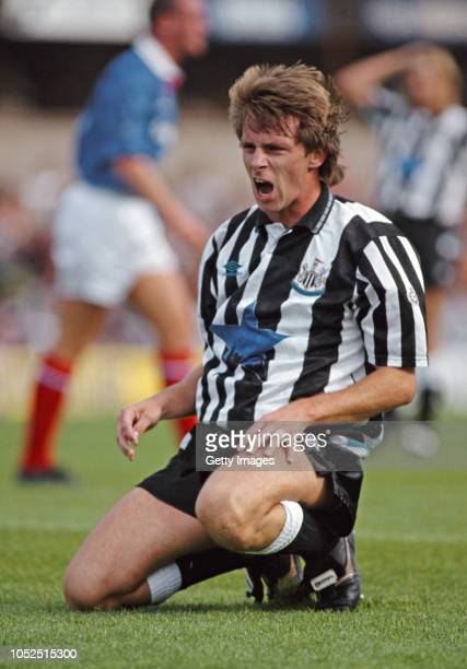Newcastle United striker David Kelly reacts during a Division One clash at St Jame's Park on September 12 Kelly's goal in the same fixture 6 months...
