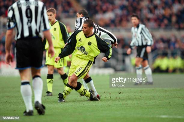 Newcastle United v Sheffield United FA Cup 4th round St James Park Final score 41 to Newcastle United 8th January 2000